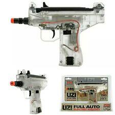 UMAREX IWI MICRO UZI ELECTRIC POWERED AIRSOFT MACHINE GUN CLEAR