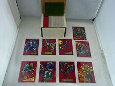 1993 Marvel Universe Series IV 4 COMPLETE SET 180 Cards 9 Chase Foils 1 Hologram