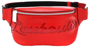 Christian Louboutin Womens Handbag  Waist/Belt Bag Red (Red, One Size)