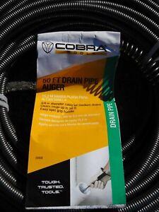 """Cobra 50 Foot Drain Auger 3/8"""""""