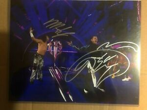 Hardy Boyz Signed Photo 11x14 WrestleMania