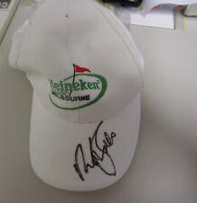 Nick Faldo (England) signed Melbourne Heineken Classic Golf Cap + COA & Photo