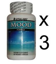 Improve Mood Enhancer Pills Stress Anxiety Mood Swings Panic Attacks Tablets x3