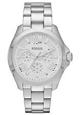 Runde Fossil Quarz - (Batterie) Armbanduhren für Damen