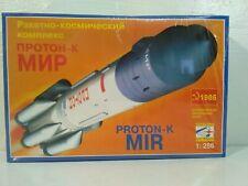 1986 Stc Start Proton-K Mir Rocket Model Kit Ussr 1:288 Russian Space ~ Sealed