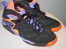 "2014 Nike Air Tech Challenge Huarache ""Phoenix Suns"" Black Tennis Shoes! Size 13"