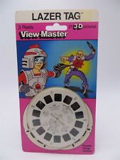 View-Master 1060, Lazer Tag, Children's Cartoon, 3 Reels in Package, NEW on Card