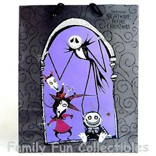 NIGHTMARE BEFORE CHRISTMAS~1990s Cleo~Gift Bag~15x12 Holiday Disney Sack~NEW NOS