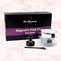 The Magmask - Magnetic Pink Clay Face Mask || All Natural, Vegan, Paraben-Free