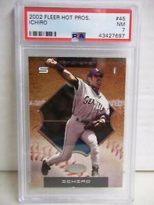 2002 Fleer Hot Prospects Ichiro Suzuki PSA NM 7 Baseball Card #45 MLB