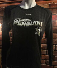Pittsburgh Penguins Reebok  NHL Kid's Active Long Sleeve shirt