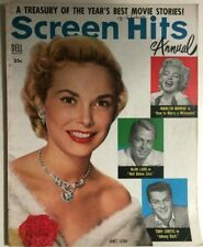 SCREEN HITS ANNUAL magazine #9 1954 Janet Leigh cover, Marilyn Monroe