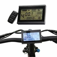 24/36/48V RisunMotor Ebike LCD3 Display Meter Remote Control For Electric Bike