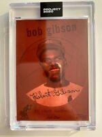 Topps Project 2020 Bob Gibson Artist Don C #163 PR 3,484 St. Louis Cardinals HOF