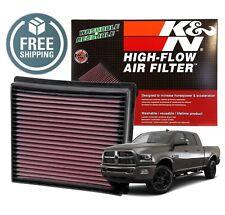 33-5005 K&N Replacement Air Filter 2013-2018 Ram 2500 3500 6.7L Cummins Diesel