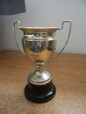 vintage silver plated trophy-engraved as photos