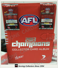 AFL TRADING CARD OFFICIAL ALBUM--2013 Select AFL Champions Trading Card Album