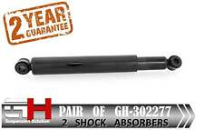 2 NEW REAR OIL SHOCK ABSORBERS FOR NISSAN TERRANO I , II ,  / GH-- 302277 /