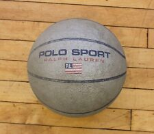 Vintage 90's Distressed Well Used Polo Sport Ralph Lauren Rawlings Basketball