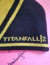 TITANFALL 2 Unisex Winter Warm Stripe Knit Beanie Skully Ski Snow Hat Cap TF2