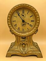 "Antique Seth Thomas ""Long Alarm"" Mantel Clock"