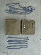 Neu 2 x Packtasche S51 Simson Seitentaschen Packtasche NVA MZ S50 Sturmgepäck