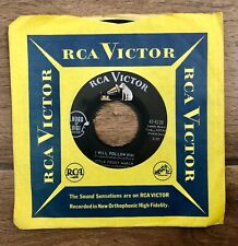 """Little Peggy March """"I Will Follow Him / Wind-Up Doll"""" RCA Vintage Record 1963"""