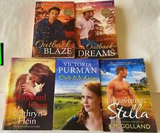 5 x Australian Romance Fiction - VGC - Rachael Johns/Victoria Purman + more