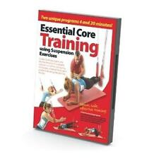 Suspension Excercises DVD Essential Core Training TRX And Redcord Fitness System