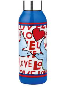 NEW Brighton Tom Clancy LOVE DOVES 10 oz. Water Bottle Stainless Steel