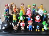 "18pcs/Set 1-3"" Super Mario Bros Figure Toy Doll Pvc Figure Toy Kid Brithday Gift"