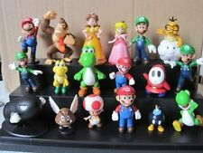 "18pcs/Set 1-3"" Super Mario Bros Figure Toy Doll Pvc Figure Toy Kid Brithday Gift"