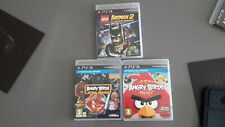 Sony PS3 triple game bundle - Angry Birds/Batman 2