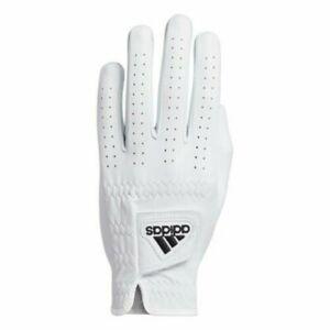 BRAND NEW adidas 2021 LEATHER Golf GLOVE LH - WHITE/BLACK