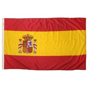 5x8 ft Flag of Spain Spanish Flag Rough Tex Knitted 5'x8' banner