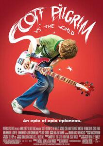 SCOTT PILGRIM VS. THE WORLD 2010 Michael Cera – Movie Cinema Poster Art Print