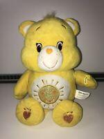 """14"""" Care Bear 2016 FUNSHINE Yellow Bear Singing Talking Interactive Plush Toy"""