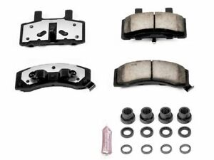 For 1988-2000 GMC C3500 Disc Brake Pad and Hardware Kit Front Power Stop 11912JC