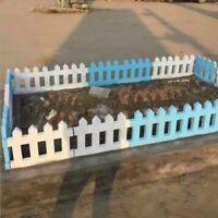Decor Fence mould Flower Pool Brick Plastic Mold Cement Yard Garden Antique