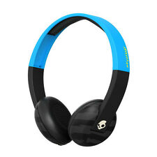 Skullcandy Uproar On-ear Kopfhörer mit Taptech Fernbedienung Blau/schwarz