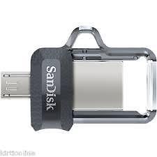 SANDISK 32GB ULTRA DUAL USB 3.0 OTG PEN DRIVE (SDDD3-032G-I35)*
