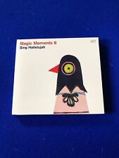 NEUF Magic Moments 8 Singer Alléluia 2015 Jazz ACT CD Promo Copy