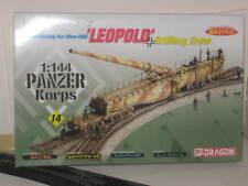 LEOPOLD GERMAN RAILWAY GUN 1/144 SCALE KIT #14 NEW IN BOX (KIT)