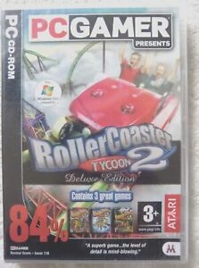 77477 - Roller Coaster Tycoon 2 Deluxe Edition [NEW / SEALED] - PC (2003) Window