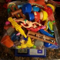 Junk Drawer Lot over Two Pounds Misc Items power rangers paw patrol big bird