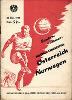 23.09.1959 Österreich - Norwegen in Wien, EM
