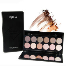 New 12 Colors Professional Eyeshadow Matte Shimmer Palette with Brush Makeup Kit