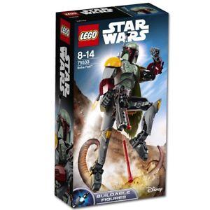 LEGO Star Wars Boba Fett Bounty Hunter Buildable Figure 75533 Brand New in Box