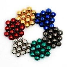 5mm 72PCS Magnetic Balls DIY Puzzle Toy - Multicolored