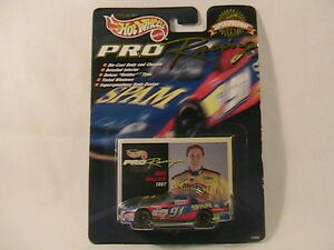 [N16]  1:64 Car #91 MIKE WALLACE 1997 Hot Wheels PRO RACING 1st Edition SPAM
